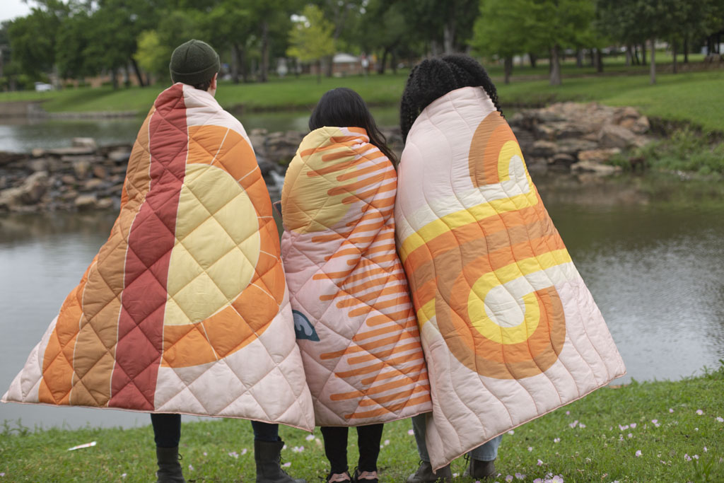 Branded Quilt Corporate Gift
